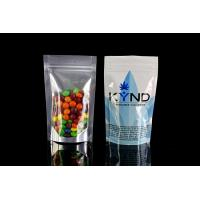 Aluminum Foil Plastic Packaging Bags , Malaysia eco friendly stand up pouches Ziplock