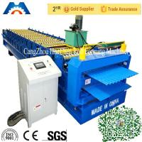 Wholesale Corrugated iron roof sheet Double Layer Roll Forming Machine for Turkey market from china suppliers