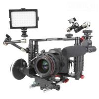Wholesale DSLR Camera Cage with Standard 15mm Rod is work with Canon 5D Mark II, 7D  from china suppliers