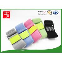 Wholesale 2 inches wide safety reflective band , elastic hook and loop straps with buckle from china suppliers