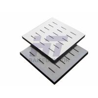 Wholesale Calcium Sulphate Conductive Perforated Raised Floor For Server Room PVC Finish from china suppliers