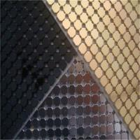 Wholesale High Grade Aluminum Sequins Fabric Mesh Cloth from china suppliers