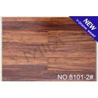 Wholesale Matt glossy V-groove Laminate Flooring 8101-2# 12mm with CE from china suppliers