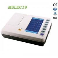 Wholesale Portable 6-lead ECG recorders / Portable six lead ecg MSLEC19 for sale from china suppliers