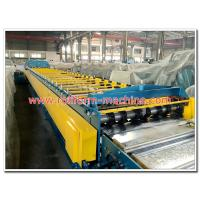 Wholesale Trapezoidal Profile Galvanised Open Deck Floor Panels Cold Roll Forming Machine from china suppliers