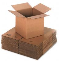 Self Locking 3 Layers Corrugated Packaging Boxes Plain Cardboard Paper Box