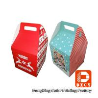 Wholesale Beautiful Small Food Grade Cardboard Boxes For Food Packaging With Handles from china suppliers