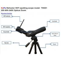 Wholesale KoPa Refractor WiFi Zoom Spotting Scope With 20X / 60X / 240X Zoom TW201 For Bird Watching--TW201 from china suppliers