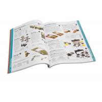 Quality Custom CMYK Catalog Printing Services Perfect Bound Paperback Catalogue Printing for sale