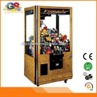 Buy cheap Coin Operated Prize Redemption Arcade Crane Claw Machine for Sale from wholesalers