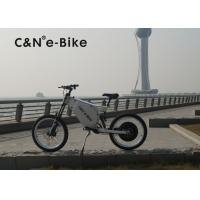 Wholesale 72V 8000W Off Road Electric Bike With Self Charging Lithium Battery from china suppliers