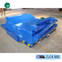 Wholesale Hydraulic lifting rail transfer trailer with large table assembly shop from china suppliers