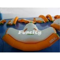 Wholesale OEM Lake PVC Tarpaulin Water Totter Inflatable Water Toys for Kids 0.9MM from china suppliers