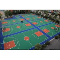 Wholesale 4-10mm Sport Surface Roll Manufacturer Rubber Sport Flooring Court Surface Factory from china suppliers
