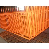 Wholesale Easy to Powder Coating Safety Mobile Fence from china suppliers