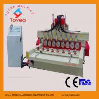 Wholesale 8 spindles Wood cnc engraver machine TYE-2415-8R from china suppliers