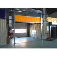 Wholesale Industrial Colorful PVC High Speed Roll Up Door Stronger Wind Bar In External Area from china suppliers