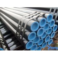Quality GR.B API 5L ASTM A106 SMLS CS Pipes Black Painting for sale