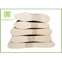 Wholesale Birch Wooden Ice Cream Sticks , Food Grade Wooden Eating Spoon Customized Shape from china suppliers