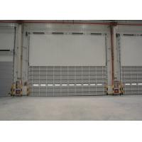 Wholesale Warehouse Wind resistance aluminum overhead door installed in sectional panel from china suppliers