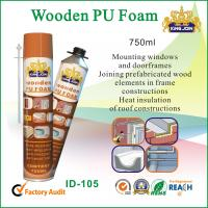 Wholesale Multi-Purpose Wood Pu Foam Spray / Seals 750ml , High Bonding Strength from china suppliers