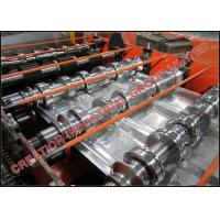 Wholesale 1½'' x 6'' Galvanized Steel Composite Floor Deck Making Machine with Emobssing Rollers from china suppliers