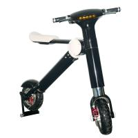 Wholesale Black / White Patent ET Two Wheel Foldable Electric Scooter With 250W / 350W / 500W Motor from china suppliers
