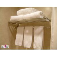 Wholesale Mens Embroidered 100 % Cotton White Hotel Hand Towel 30 * 15cm 120 g from china suppliers
