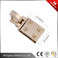 Bag metal d ring buckle,light gold bag metal accessories 20.24*27.4mm
