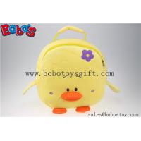 "Wholesale 11.8""Lovely Yellow Duck Children Plush Backpack Bos-1231/30cm from china suppliers"