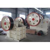 Wholesale 250Kw Jaw Crusher Machine , JC Series Highly Abrasive Stone Crusher Machine from china suppliers
