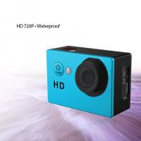 Quality 2.0 Inch Mini HD 720P Waterproof Action Camera Rechargeable 59.3X29.3X41.1mm for sale