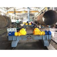 Wholesale 20 Ton PU Welding Turning Rolls Welding rotator 100-1000mm / min from china suppliers