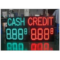 Wholesale Multiple size waterproof LED Gas Station Sign with Rear / Front Access , Single / Double Side from china suppliers