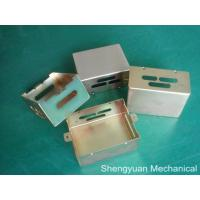 Wholesale AL5052 Precision Sheet Metal Fabrication Cover Parts with Yellow Conversion Coating from china suppliers