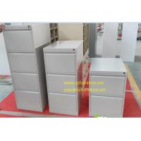 Quality To offer white coler vetical filing cabinet/knocked down structure/powder coating treatment/anti-tilt device for sale
