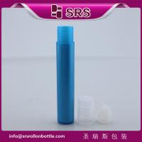 Quality round roll on tube 15ml for perfume no leakage for sale