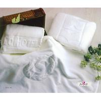 Wholesale Womens 100 % Cotton White Large Hotel Bath Towels 70 * 140cm from china suppliers