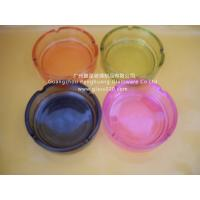 Wholesale High White Clear Glass Ashtray, Round Shape Y006-1 from china suppliers