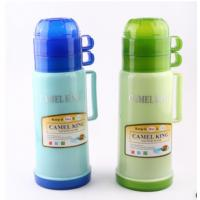 Wholesale 1.0 L plastic vacuum flask glass tank vacuum thermos outdoor traveling bottle from china suppliers