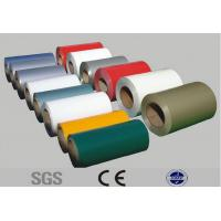 Wholesale 3 - 15ton Prepainted Steel Coil , PPGL Color Coated Galvanized Corrugated Sheet from china suppliers