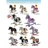 Wholesale Plush Rocking Horse Collection Cute Baby Toys For Children Ride on Playing from china suppliers