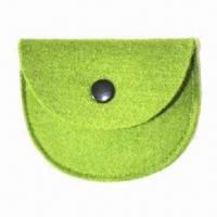 Buy cheap Promotional Cosmetic Bag, Made of Felt, Customized Designs, Sizes and Colors are Accepted from wholesalers