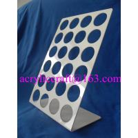 Wholesale Acrylic Coffee Capsule Display Stand L Shape Acrylic Coffee Pod Holder from china suppliers