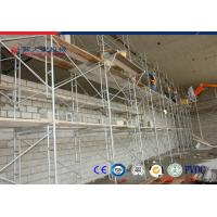 Wholesale Powder Coated Iron H Scaffolding Frame , Building Construction Scaffold from china suppliers