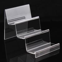 Wholesale 3 Layer Clear Acrylic Display Stand For Book / Cell Phone / Wallet / Hand Bag from china suppliers