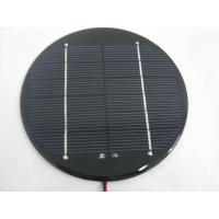 Wholesale Small 6v 300ma Round PET Solar Panel Crystalline Silicon Solar Panels from china suppliers