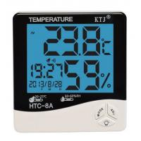 Wholesale HTC-8A LCD display temperature and humidity meter clock from china suppliers