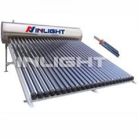 Wholesale 20tubes Compact Pressurized Stainless Steel Heat Pipe Solar Water Heaters for Slope Roof from china suppliers