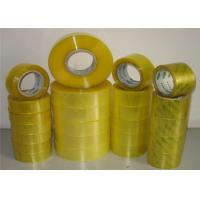 Wholesale Clear Acrylic Packaging Tape With BOPP  Packing Tape Film Coating Acrylic Glue from china suppliers